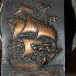 Картины, постеры, гобелены, панно - Ингерманланд корабль чеканка, 0
