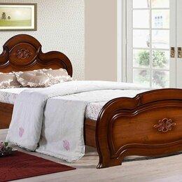 """Кровати - Кровать односпальная Щара-120 """"орех"""", 0"""