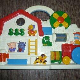 Развивающие игрушки - Chicco Музыкальная Ферма развивающая, интерактивная, 0