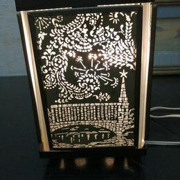 Настольные лампы и светильники - Ночник огни москвы ссср, 0