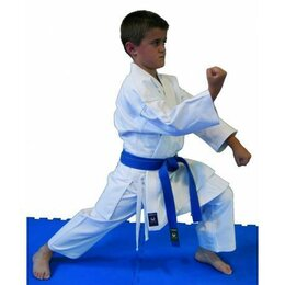 Спортивные костюмы и форма - Кимоно для карате KAMIKAZE JUNIOR рост 140 см, 0