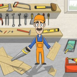 Разнорабочие - Помощник плотника на вахту  15/30 дней с проживанием и питанием, 0