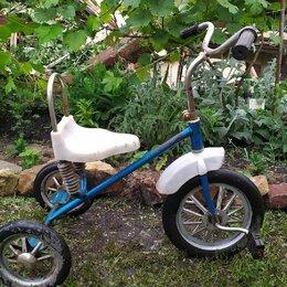 Трехколесные велосипеды - Велосипед СССР детский 3-колесный, 0