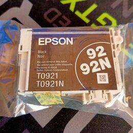 Картриджи - Картридж для принтера Epson T0921, 0