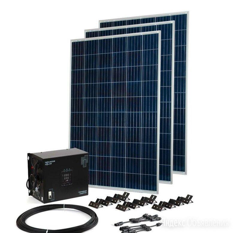 Солнечная сетевая электростанция 3кВт по цене 165000₽ - Солнечные батареи, фото 0