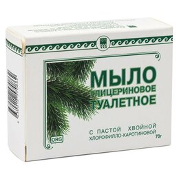 Мыло - Мыло туалетное глицериновое Фитолон, 70 г, 0