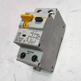 Защитная автоматика - Устройствo защитного отключения C25, 0