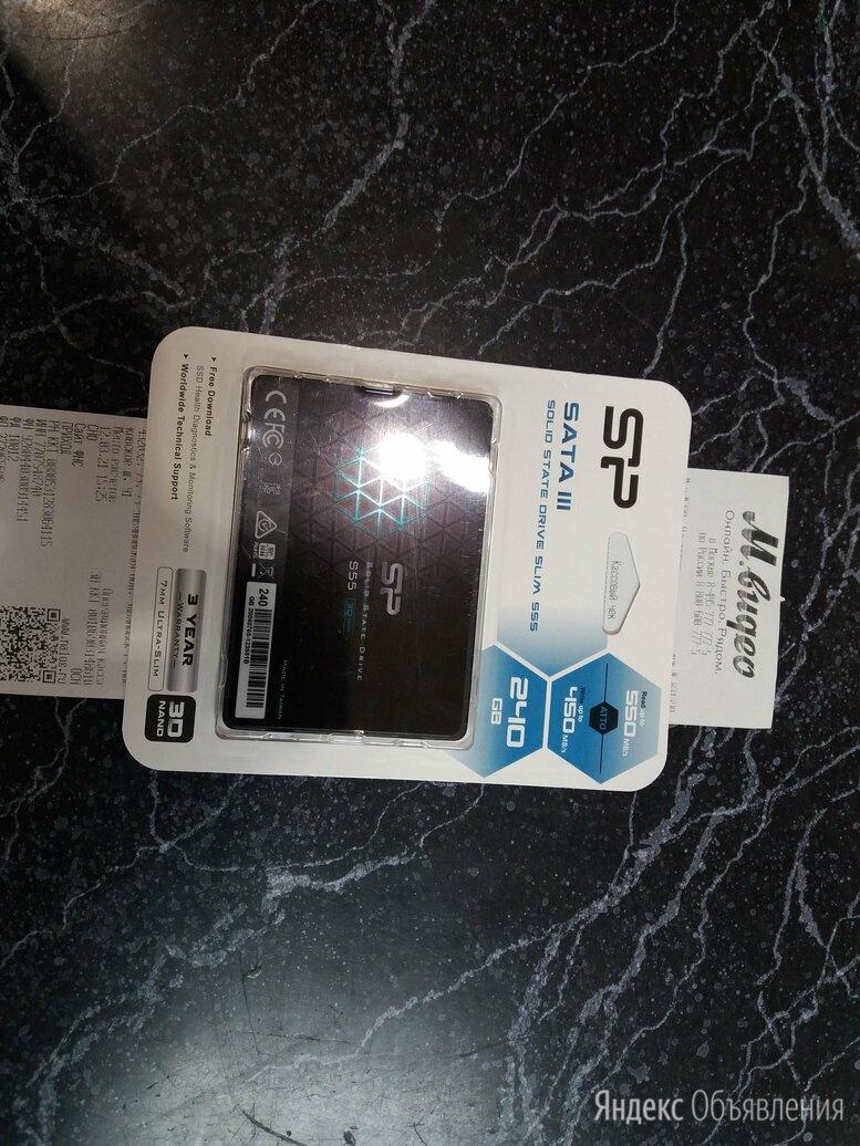 SSD 240 Гб новый с чеком по цене 2900₽ - Внешние жесткие диски и SSD, фото 0