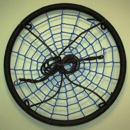 Качели - Качели гнездо-Хит D100см цвет чёрный/ синий, 0