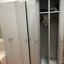 Мебель для учреждений - МЕТАЛЛИЧЕСКИЙ ШКАФ ДЛЯ ОДЕЖДЫ ШРМ-АК-500, 0
