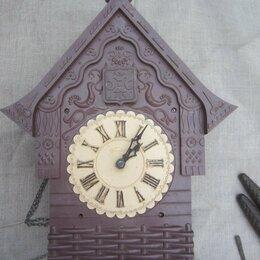 Часы настенные - Часы с кукушкой механические маяк, 0