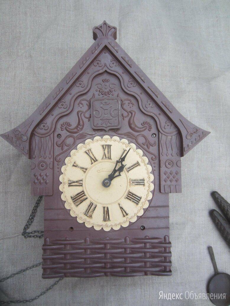 Часы с кукушкой механические маяк по цене 2900₽ - Часы настенные, фото 0