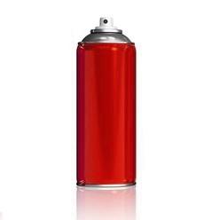Краски - Краска аэрозольная красный (3020), 0
