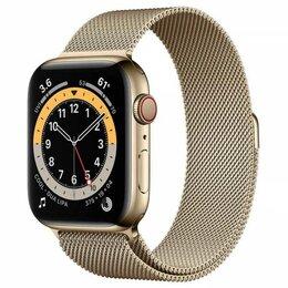 Умные часы и браслеты - Apple Watch Series 6 44mm GPS+Cellular Gold…, 0