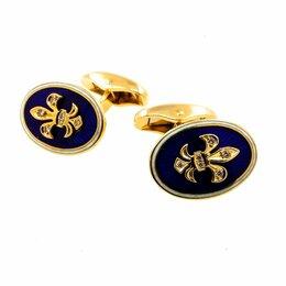 Запонки и зажимы - Лимитированные запонки с бриллиантами Faberge, 0