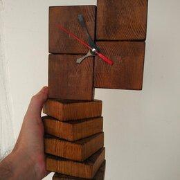 Часы настольные и каминные - Часы из натурального дерева, 0