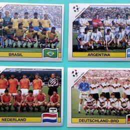 Другое - Наклейки Panini Чемпионат Мира 1990 Сборные Стран, 0