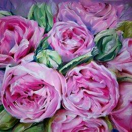Картины, постеры, гобелены, панно - Пионовидные розы , 0