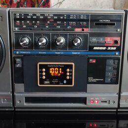Музыкальные центры,  магнитофоны, магнитолы - Магнитофон Вега 335 Mp3 Fm Aux Usb Bluetooth, 0