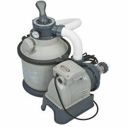 Фильтры, насосы и хлоргенераторы - Песочный насос-фильтр Intex, 0
