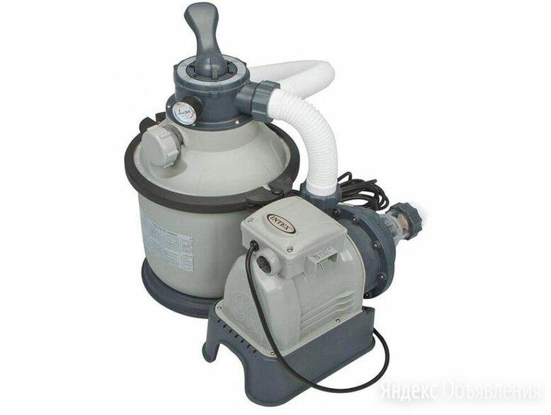 Песочный насос-фильтр Intex по цене 14900₽ - Фильтры, насосы и хлоргенераторы, фото 0