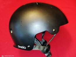 Спортивная защита - Шлем защитный OXELO чёрный H PLAY 5, 0