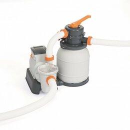 Фильтры, насосы и хлоргенераторы - Песочный фильтр Bestway для бассейна 5678 л/ч, 0