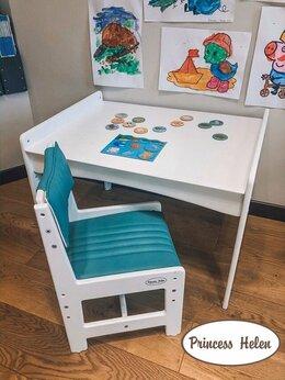 Стульчики для кормления - Детский комплект стол и стул, 0
