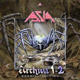 Музыкальные CD и аудиокассеты - Asia-2CD-Archiva 1&2-Special Edition-remaster &…, 0