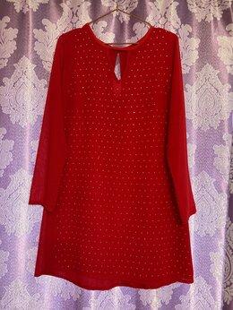 Платья - Вечернее красное платье, 0