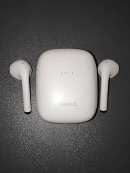 Наушники и Bluetooth-гарнитуры - Беспроводные наушники Baseus W04 PRO, 0