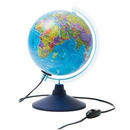 Глобусы - Глобус политический Globen, 21см, на круглой подставке, 0