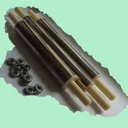 Скалки - Металлическая скалка для теста, на подшипниках, 0