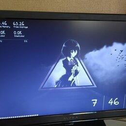 """Мониторы - Монитор-телевизор supra 21.5"""" торг, 0"""