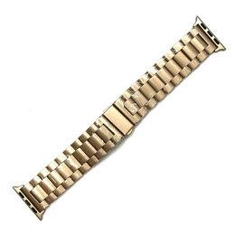 Чехлы - Ремешок для Apple Watch 42/44mm (металл золотой), 0