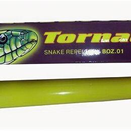 Отпугиватели и ловушки для птиц и грызунов - Электронный отпугиватель змей ультразвуковой Торнадо БОЗ 01 для дачи, 0