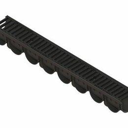 Железобетонные изделия - Лоток водоотводный S'park ЛВ-10.14.10-ПП с решеткой щелевой чугунной кл.С (, 0