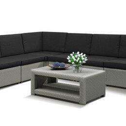 Комплекты садовой мебели - Угловой диван под ротанг Гранд , 0