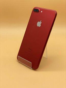 Мобильные телефоны - iPhone 7 plus красный 128 Gb б/у, 0