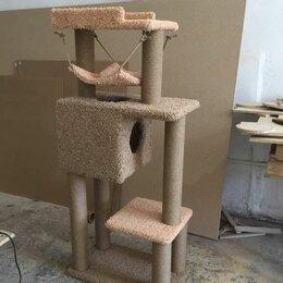Лежаки, домики, спальные места - Домик для кошки, когтеточка для кошки, 0