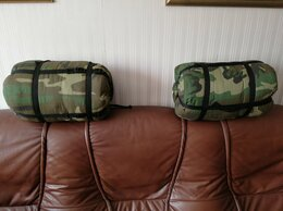 """Спальные мешки - Спальник туристический до - 5С """"кокон"""" б/у в…, 0"""