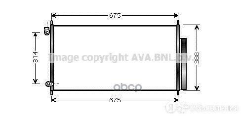 Конденсер Honda Accord Viii 2.0/2.4 03- Ava арт. HD5185D по цене 6100₽ - Отопление и кондиционирование , фото 0