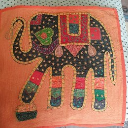 Декоративные подушки - Наволочки новые Индия , 0