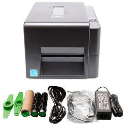 Принтеры чеков, этикеток, штрих-кодов - Термотрансферный принтер TSC TE200 U, 0