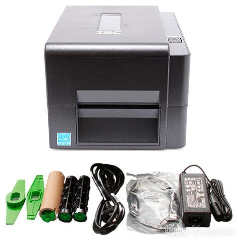 Термотрансферный принтер TSC TE200 U по цене 12900₽ - Принтеры чеков, этикеток, штрих-кодов, фото 0