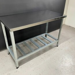 Мебель для учреждений - Стол производственный из нержавейки 1500х600х850, 0