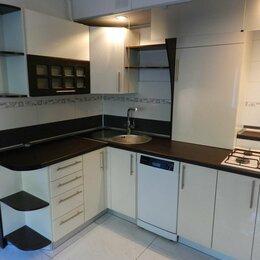 Мебель для кухни - Угловая современная кухня с фасадами акрил Монреаль, 0