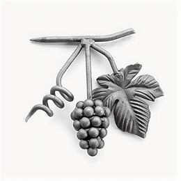 Садовые фигуры и цветочницы - Виноград с листом (150x120 мм), 0