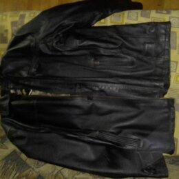 Куртки - Куртка зимняя из натуральной кожи, 0