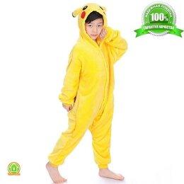 Кигуруми - Пижама кигуруми Пикачу, детский, 8-9 лет (125-135 см), 0